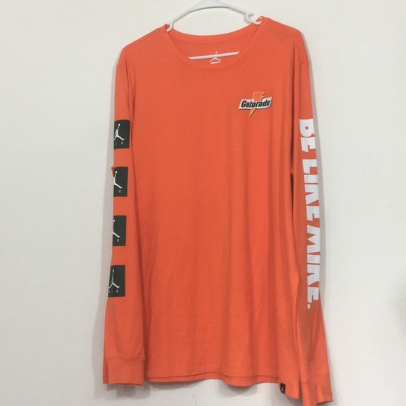 ded743d678cc Nike Air Jordan Be Like Mike Gatorade Long Sleeve